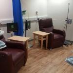 How to refurbish an active hospital treatment area