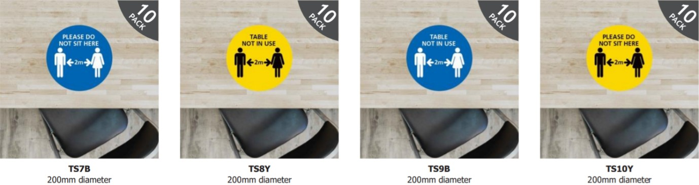 Table Stickers